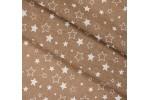 Бязь детская, 150 см, Звездное небо кофе