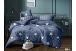 Сатин 235 см, Звезды на синем (основа)