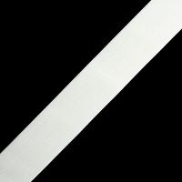 Резинка вязаная 40 мм, цв. белый