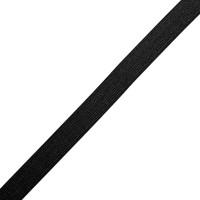 Резинка вязаная 20мм, цв. черный