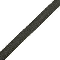 Тесьма брючная (полиэфирная), шир.15мм, цв.черный