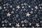 Кулирная гладь с лайкрой, Звёзды на тёмно-синем