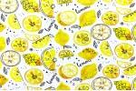 Кулирная гладь Лимоны