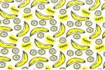 Кулирная гладь гладкокрашеная, Бананы