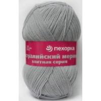 """Пряжа для вязания ПЕХ """"Австралийский меринос"""", цв. серый"""